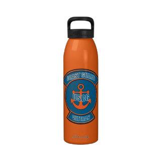 Coast Guard Veteran Anchor Reusable Water Bottles