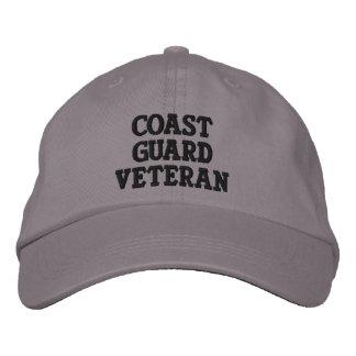 Coast Guard Veteran Embroidered Hat