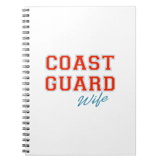 COAST GUARD WIFE NOTEBOOK