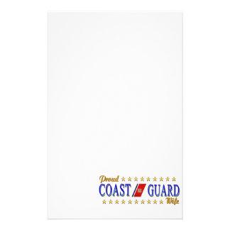 Coast Guard Wife Stationery