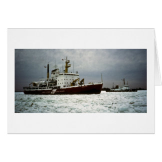 Coast Guards on the St. Clair River Card