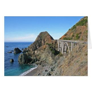 Coast Highway 1 - Big Creek Bridge Card