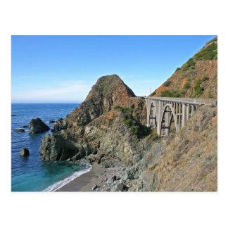 Coast Highway 1 - Big Creek Bridge Postcard