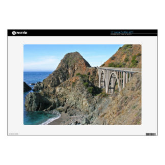 Coast Highway 1 - Big Creek Bridge Laptop Skins