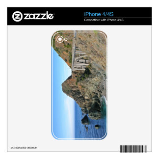 Coast Highway 1 - Big Creek Bridge Skins For iPhone 4