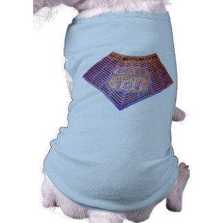 Coast Hwy 101 Pet Tee Shirt