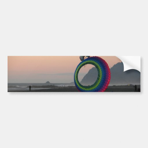 Coast Kites Car Bumper Sticker