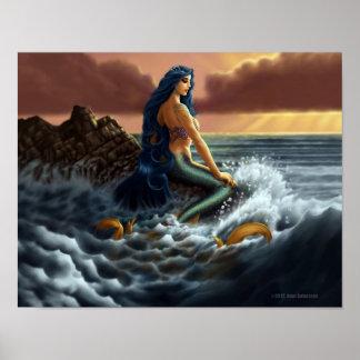 Coast Mermaid Poster
