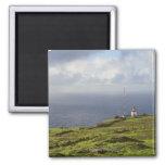Coast Near Ponta do Pargo, Madeira, Portugal 2 2 Inch Square Magnet