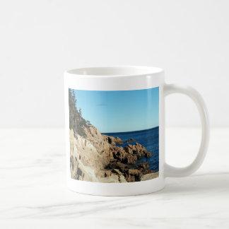 Coast Of Bass Harbor Lighthouse Coffee Mug