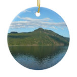 Coast of British Columbia in Scenic Canada Ceramic Ornament