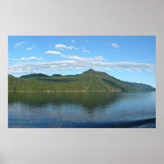 Coast of British Columbia in Scenic Canada Poster