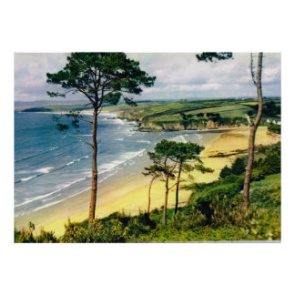 Coast of Brittany Poster