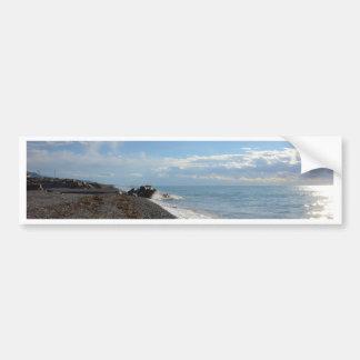 Coast Of Calabria Car Bumper Sticker