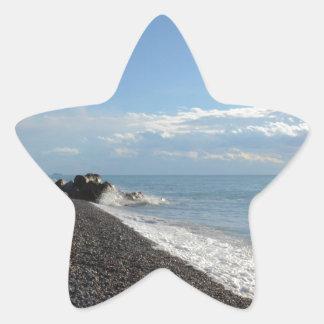 Coast Of Calabria Star Sticker