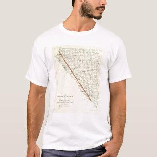 Coast of California showing San Andreas Rift T-Shirt