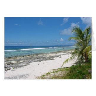 Coast of Huahine Card