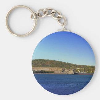 Coast Of Maine 7 Basic Round Button Keychain