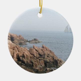 Coast of Maine Ceramic Ornament
