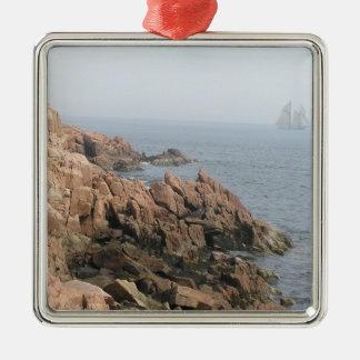 Coast of Maine Metal Ornament