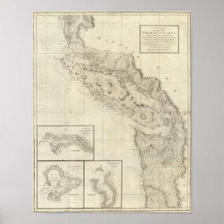 Coast of North West America 2 Print