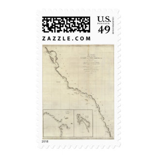 Coast of North West America 6 Stamps