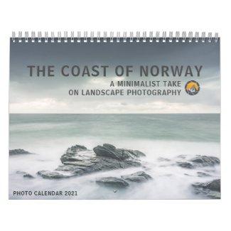 Coast of Norway 2021 Calendar