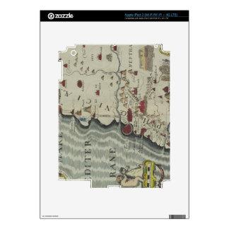 Coast of Phoenicia Decals For iPad 3