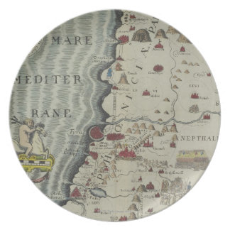 Coast of Phoenicia Plate