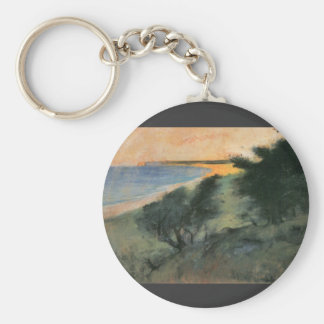 Coast of Rugen by Lesser Ury Keychain