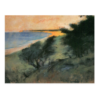 Coast of Rugen by Lesser Ury Postcard