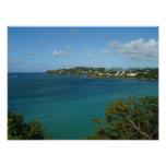Coast of Saint Lucia Photo Print