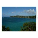 Coast of St. Lucia Caribbean Vacation Photo Card