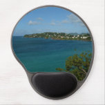 Coast of St. Lucia Caribbean Vacation Photo Gel Mouse Pad