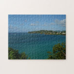 Coast of St. Lucia Caribbean Vacation Photo Jigsaw Puzzle