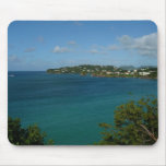 Coast of St. Lucia Caribbean Vacation Photo Mouse Pad