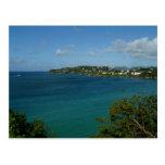 Coast of St. Lucia Caribbean Vacation Photo Postcard
