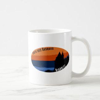 Coast of the Biarritz Basques Coffee Mug