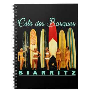 Coast of the Biarritz Basques Notebook