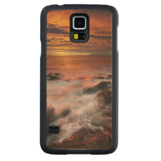 Coast Of The Natural Park Of Cabo De Gata Carved Maple Galaxy S5 Slim Case