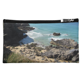 Coast Path nr Padstow, Cornwall Photo Cosmetic Bag