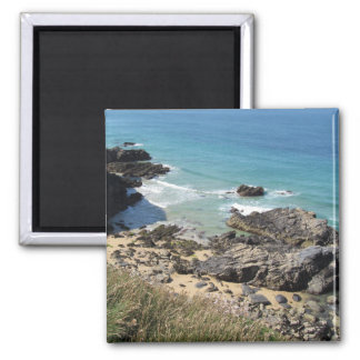 Coast Path nr Padstow, Cornwall Photograph Magnet