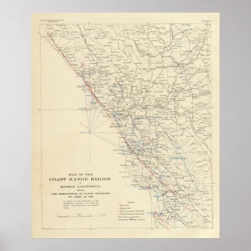 Coast Range Middle California Print
