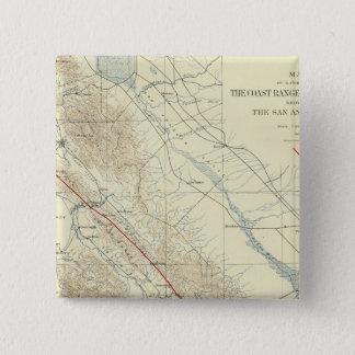 Coast Ranges showing San Andreas Rift Button