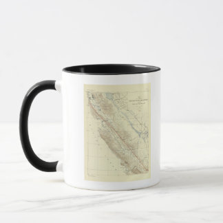 Coast Ranges showing San Andreas Rift Mug