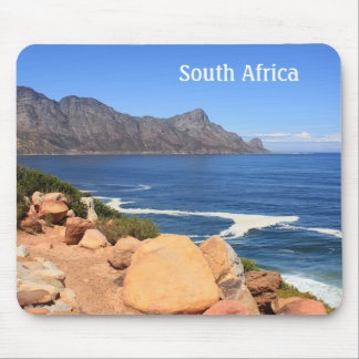 Coast Road to Cape Town, South Africa Mouse Pad