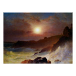 Coast Scene, Mount Desert by Frederic Edwin Church Poster