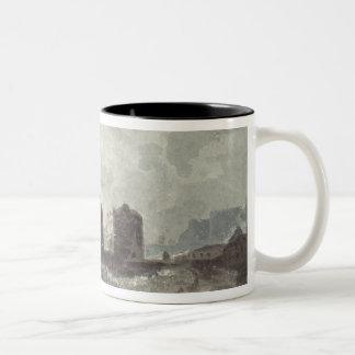 Coast Scene Two-Tone Coffee Mug