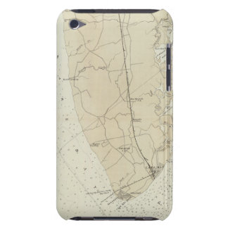 Coast section no 6 Sea Island to Cape May Point iPod Touch Cover