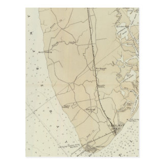 Coast section no 6 Sea Island to Cape May Point Postcard